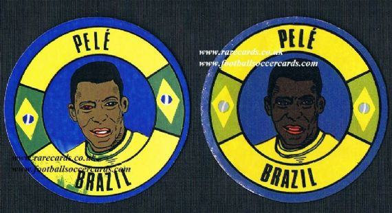 1970 BAB Pele WC70 stickers PAIR